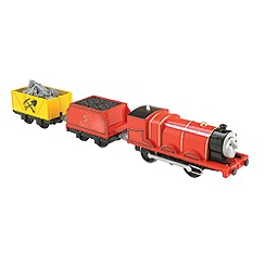 Thomas & Friends - Fisher-Price TrackMaster Motorized Scared James Engine