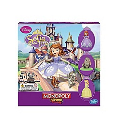 Hasbro - Monopoly Junior Game, Disney Sofia the First Edition