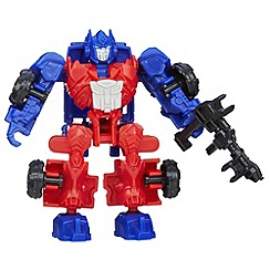 Transformers - Age of Extinction Construct-Bots Dinobot Riders Optimus Prime