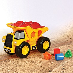 CAT - Shape sorter dump truck