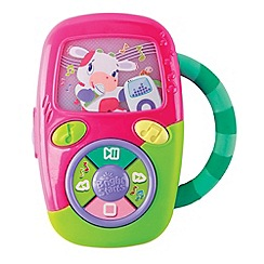 Bright Starts - Pip get movin' music player pink