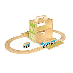Casdon - Boxset Foldout Wooden Train
