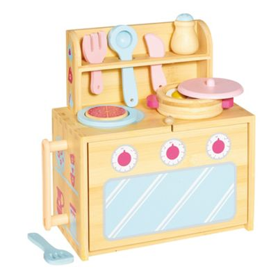 Casdon Boxset Foldout Wooden Role Play Kitchen - . -