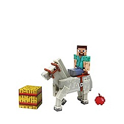 Minecraft - Steve With Horse