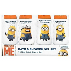 Despicable Me - Bath & shower gel collection 4 x 75ml