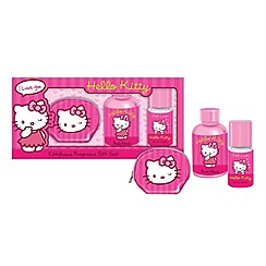 Hello Kitty - Pink love fragrance & coin purse set