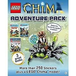 Dorling Kindersley - LEGO Chima Adventure Pack