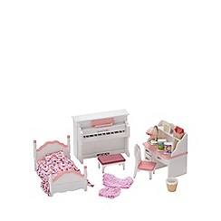 Sylvanian Families - Girl's Bedroom Set