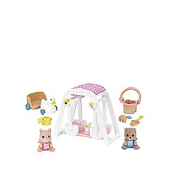 Sylvanian Families - Peaches & Freddy's Swing and Play