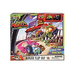 The Trash Pack - Wheels - Burger Flip Out Playset