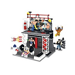 WWE - Stackdown Train and Rumble Playset with Sheamus and Rey Mysterio