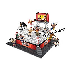 WWE - Stackdown Battle Brawlin' Ring Set with John Cena, The Miz and Referee