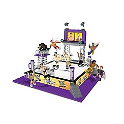 WWE - Stackdown Wrestlemania XXX Ring Playset with John Cena, Triple H, Randy Orton and Referee