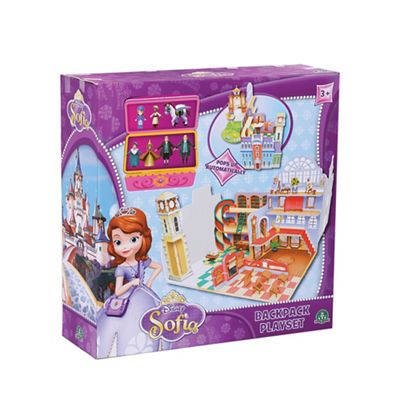 Disney Sofia the First Royal Prep Academy Backpack Playset - . -
