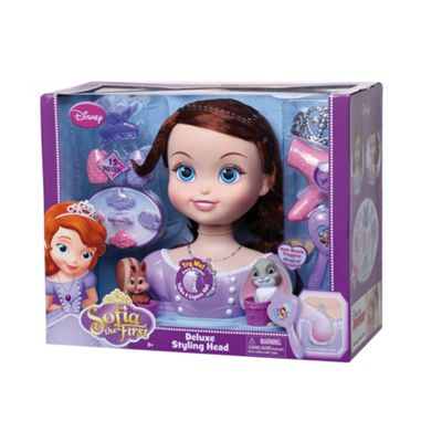 Disney Sofia the First Deluxe Styling Head - . -
