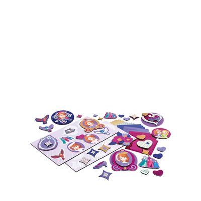 Disney Sofia the First Cool Create Sticker Scratcherz - . -