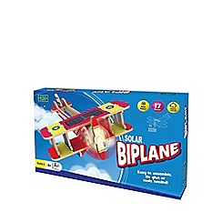 The Green Board Game Co - Craft Kit Solar Powered Biplane