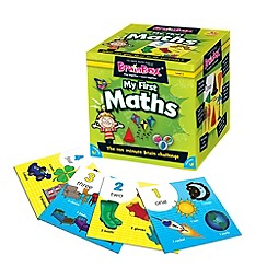 The Green Board Game Co - BrainBox My First Maths Memory Game