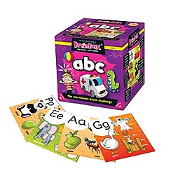 The Green Board Game Co - BrainBox My First ABC Memory Game