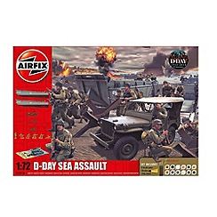 Airfix - WWII D-Day  - The Sea Assault