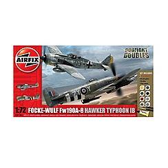 Airfix - WWII Dfd Focke Wulf 190A & Hawker Typhoon