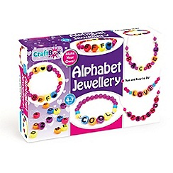 CraftBox - Alphabet Jewellery