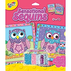 Galt - Sensational Sequins Owls