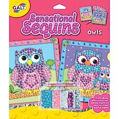 Galt - Sensational Sequins Owls