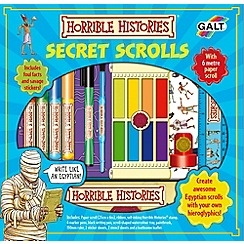 Galt - Horrible Histories - Secret Scrolls ART SET
