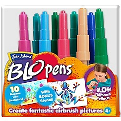 John Adams - 10 BLO pens with Desk Display