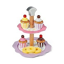 Tidlo - Wooden Cake Stand Set