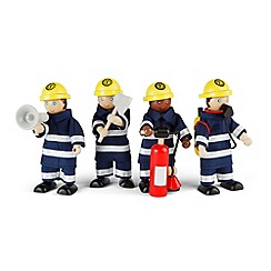 Tidlo - Wooden firefighters set