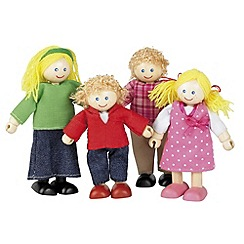 Tidlo - Wooden doll family