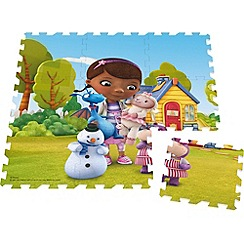 Doc McStuffins - 9 piece giant foam floor puzzle