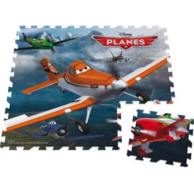 Disney Planes 9 piece giant foam floor puzzle - . -