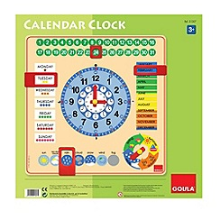 Jumbo - Wooden educational calendar clock