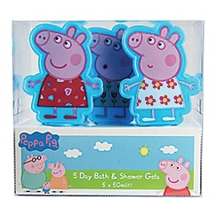 Peppa Pig - 5 Day Bath & Shower Gels