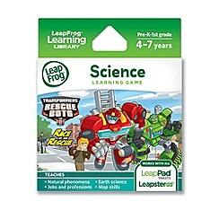 LeapFrog - Transformers Rescue Bots Race to the Rescue Learning Game