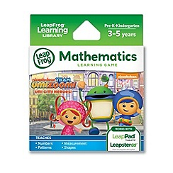 LeapFrog - Team Umizoomi Learning Game