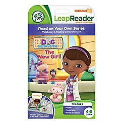 LeapFrog - LeapReader Book, Disney Doc McStuffins: The New Girl