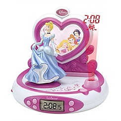 Disney Princess - Projector Alarm Clock