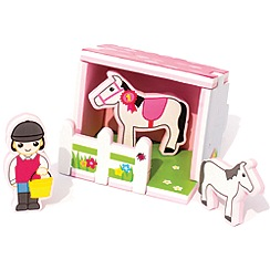 Marbel - MEADOW KIDS Horse Stable Build & Play