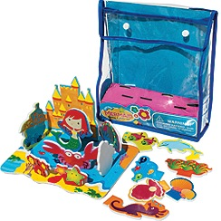 Marbel - MEADOW KIDS Mermaid Castle Floating Activity Bath Set