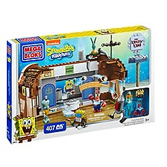 Mega Bloks - Spongebob Squarepants Krusty Krab Food Fight