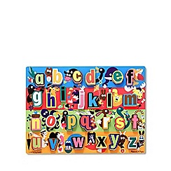 Melissa & Doug - Jumbo English Alphabet Chunky Puzzle