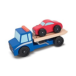 Melissa & Doug - Flatbed Tow Truck