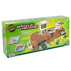 Motormax - Battle Island play set