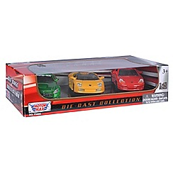 Motormax - Pack of three diecast supercars
