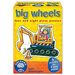 Orchard Toys - BIG WHEELS