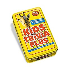 Paul Lamond Games - Kids Trivia 3Rd Edition